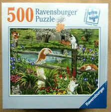 A 500 PIECE JIGSAW PUZZLE BY RAVENSBURGER - CATS AT PLAY