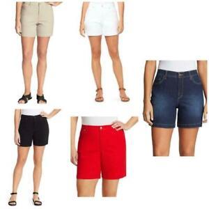 Gloria Vanderbilt Amanda Women's Denim Bermuda Shorts
