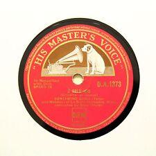 """Beniamino GIGLI (TENORE) """"O SOLE MIO/senza ricordare"""" (e +) HMV DA-1373 [78 rpm]"""
