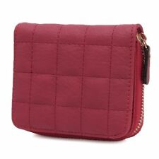 Fashion Women Leather Bifold Wallet Zipper Clutch Card Holder Purse Lady Handbag