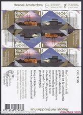NVPH V 2912 - 2913  BEZOEK AMSTERDAM   2012  vel postfris