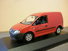 Volkswagen Caddy 2005  in Red / Burgundy 1/43rd scale