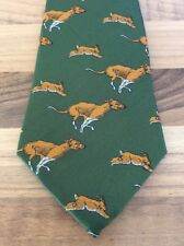 Bisley No.8 Hare And Hounds Tie Pattern