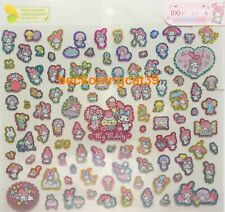 Lovely Sanrio Original My Melody Glitter Sticker 100 Piano Sweets MADE IN JAPAN
