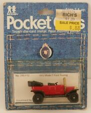 Tomica Pocket Cars #246-F12 Ford Model/Type T Touring Red F11 MOC 1/60 Scale