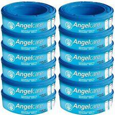 Angelcare Lot de 12 recharges pour Poubelle à Couches