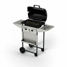 Barbecue Expert deluxe Campingaz con fornello esterno da 8,6 kw pietra lavica
