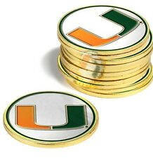 Miami Hurricanes 12 Pack Golf Ball Markers