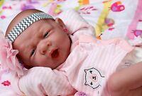 "~~ NEW ~~ BABY GIRL DOLL REAL REBORN BERENGUER 15"" INCH VINYL LIFELIKE NEWBORN"