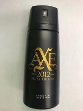 "AXE "" 2012"" Deodorant Men Body Spray 150mL Ea. (Lot of 6 Cans) New"