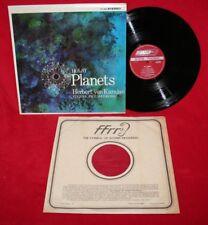 KARAJAN Holst The Planets Vienna Philharmonic LONDON Stereo CS 6244 EX In Shrink