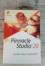 Pinnacle Studio 20 Turn Your Video and Photos Into Movies NIB