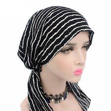 Fashion Women Lady Hijab Turban Hat Beanie Chemotherapy Cap Head Scarf  Wrap