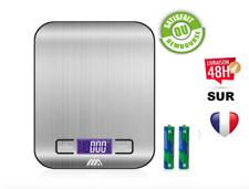 Balance Cuisine Electronique Balance de Précision Pese Aliment 5kg/1g Écran LC