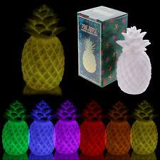 LED Luce ANANAS MULTI colore Luci Lampada TROPICALE IDEA REGALO NEW Home Decor