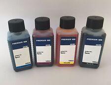Akink Tinte refill ink Kit für Epson EcoTank ET2550 ET2600 ET4500 4x 100ml