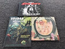 Overbite- Sin City- Voyage Into The Deep Lot Of 3 Hc Frank Miller Oop Rare