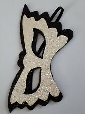 Pearl black glitter Eye Mask Masquerade Party wedding summer Ball Hen Night