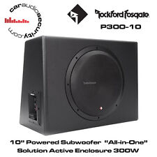 "Rockford FOSGATE PUNCH p300-10 - Single 10"" 300 WATT Alimentato Subwoofer Attivo"