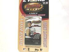 2005 BOWMANS BEST  BASEBALL BLISTER PACK(possible Verlander rookie auto?)