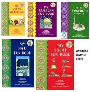 Islamic Fun WorkBook Series-Muslim,Islamic Children Ideas Gift