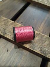 Gudebrod Jasper Orange Black Nylon Thread Rod Winding 50 Yards A