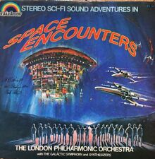 "The London Philharmonic Orchestra - Space Encounters 12"" Vinyl LP VG Condition"