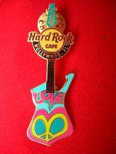 HRC Hard Rock Cafe Hollywood Florida Peace Guitar Series 2007 LE500