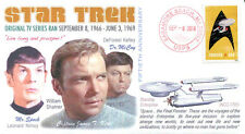 COVERSCAPE computer designed 50th anniversary debut of TVs Star Trek event cover