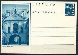 Litauen Bildpostkarte P-29 Vilnius Ausros vartai
