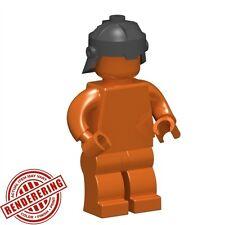 Custom DWARVEN HELMET for Lego Minifigures Castle LOTR Medieval -Steel-