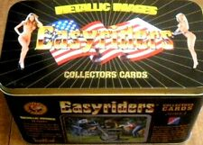 EASYRIDERS Motorcycles Metallic Images Trading Cards Factory Sealed Tin