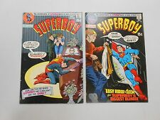 Superboy comic lot of 2! #'s 169 and 170! Vf/Vf7.0 and Vf7.5-! Bronze age Dc!
