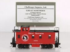 Challenger/CIL 2236.1 HO Brass 25' Caboose Great Northern GN #X683 Safety Slogan