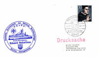 4 DECEMBER 1980 GERMAN LIFEBOAT EDUARD NEBELTHAU CACHED COVER