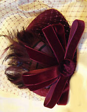 Pillbox 1940s Vintage Hats for Women