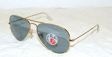 OCCHIALE DA SOLE RAYBAN AVIATOR LARGE METAL RB 3025 POLARIZZAT ORIGINALE NUOVO!!