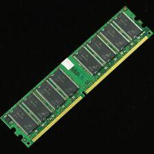 1GB PC2700 DDR333 Non-Ecc Low Density 184-pin DIMM Desktop Memory LOT of 10!