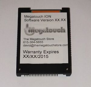 """Megatouch ION 2011 Brand New SSD Hard drive 11 - Flash Memory! 2.5"""" IDE"""