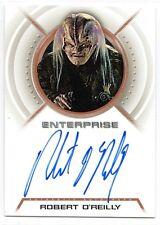 Star Trek Enterprise Autograph Robert O'Reilly A11 Kago-Darr