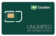 ChatSim Unlimited - Global SIM card to Chat with WhatsApp, Telegram and other