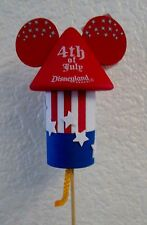 New Disney 4th of July  Mickey Firework / Rocket  Antenna Ball / Topper