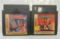 Gauntlet + Rolling Thunder - Nintendo NES Authentic Game Lot Tested Works