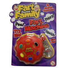 Llavero flatulencias novedad broma de flatulencia botón Regalo, Navidad Santa Secreto TY6410