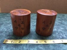 Salt & Pepper Shakers - Charleston South Carolina - Wooden - Free Ship!