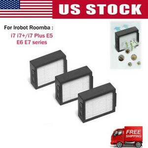 For iRobot Roomba i7 E5 E6 Vacuum Cleaner HEPA Filters Green USA