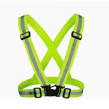 Reflective Security Visibility High Adjustable Vest Stripes Jacket Vest Safety