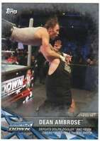 2017 Topps WWE Road to WrestleMania Silver Parallel /25 #3 Dean Ambrose