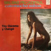 Tito Chicoma Y Chango Latin Salsa Guaguanco Cumbia Sealed Sexy Teen Cover Peru