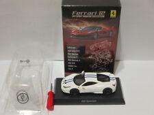 Kyosho 1:64 Ferrari Collection 12 Ferrari 458 Speciale white Brand new